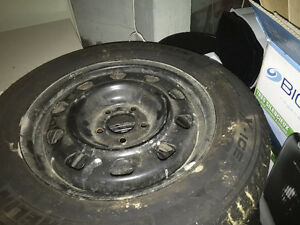 Michelin X-Ice Tires (Used One Winter Only)