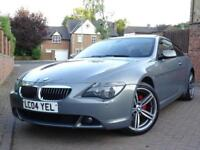 2004 BMW 645 4.4 auto Ci..HIGH SPEC..£8,700 extras..HIGH SPEC..PANORAMIC ROOF