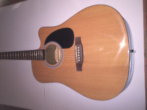 STADIUM Acoustic Guitar with Cutaway and Electric Pick-up