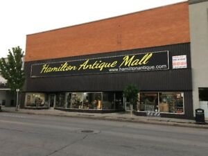 Hamilton Antique Mall, third floor opening, $120 per month