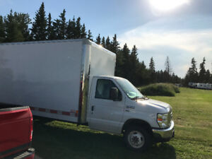 2016 Like New Lightly Used 16' E-450 Cube Van Truck For Sale