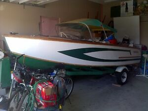 1967 McCULLOUGH WOOD BOAT