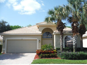 3 bedroom, with pool, 7602 Charing Cross Ln. Delray Beach Fl.