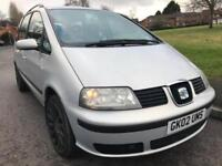 SEAT ALHAMBRA 1.9TDI PD S DIESEL (2002) 7 SEATER LOW MILEAGE