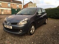 Renault Clio 1.5 dCi Dynamique 2007 5dr £30 PER YEAR ROAD TAX Bargain L@@K hpi clear ready to GO