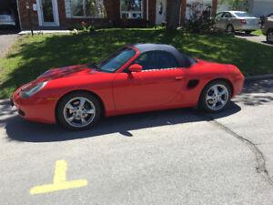Porsche Boxster Red perfect condition. 65,000km $14,900