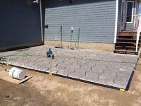 Paving stone Installer