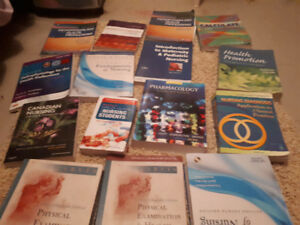 First and second year nursing books