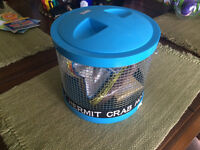 Hermit Crab Hotel Carrier + bedding left over and conditioning