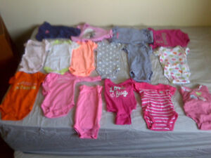 0-3 and 3 month baby girl clothes London Ontario image 3