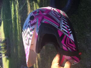 Kids quad/dirt bike helmet