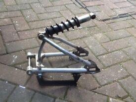 Crf 50 pit bike swingarm