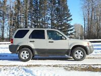 2004 Ford Escape- runs great and body is rust free