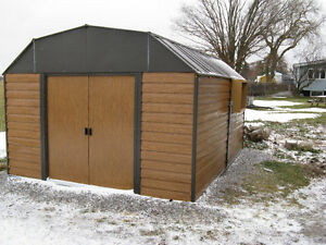 For sale, a free standing 14'x10'x8' woodworking shop.
