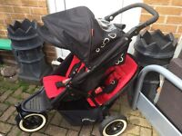 Phil & teds dot double / single Pram pushchair buggy stroller