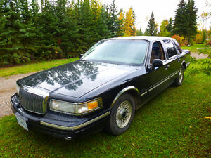 1997 Lincoln Town Car leather Sedan