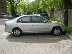 2001 Honda Civic grey Sedan
