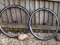 Mavic road bike wheels