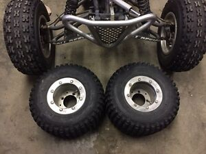 Trx250r rims and tires