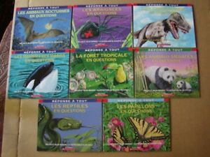 FRENCH BOOKS FOR PRIMARY SCHOOL CHILDREN - SERIE REPONSE A TOUT
