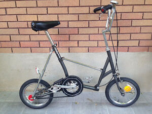 Bridgestone Folding Bike - Made in Japan, Belt Drive