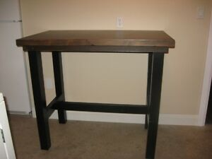 Bar Height table and two bar stools