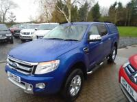 2014 Ford Ranger 2.2TDCi (150PS) Auto Double Cab Limited ( NO VAT 22000 MILES )