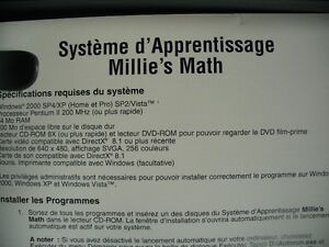 Cdrom Millie's Math Learning system West Island Greater Montréal image 4