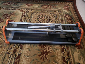 """HDX Manual Tile Cutter-14 inch-Like New"