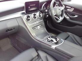 Mercedes-Benz C Class C220 D AMG LINE PREMIUM PLUS (silver) 2016-07-20