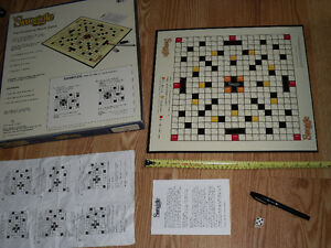 Swoggle : The Creative Word Game (Scrabble with no tiles) West Island Greater Montréal image 2
