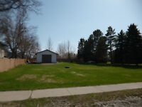 Great lot to build on with garage!! $89,000