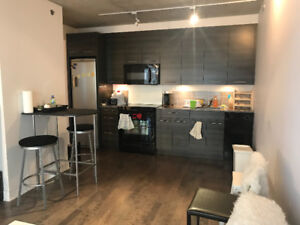 1414 Chomedey le seville 3 1/2 fully furnished available NOW!