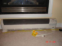 Honeywell Low-Profile Silent Comfort Air Heater
