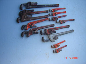 RIDGID PIPE WRENCHES WRENCH