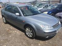 2003/03 Ford Mondeo 1.8 LX FULL MOT EXCELLENT RUNNER