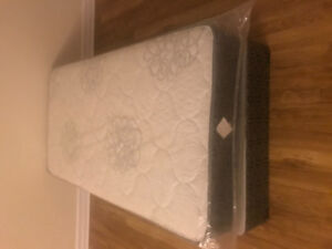 Twin mattress and box spring new