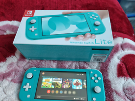 Switch lite with 64gb memory card