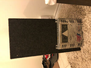 "10"" sub and amp good condition"