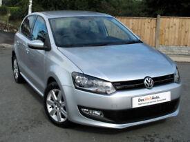 Volkswagen POLO 1.2 TDI Match ( 75ps ) 2012 - CX62 reg, Silver, 56k mi