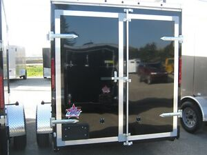 "6 x 10 + 18"" VNOSE ENCLOSED TRAILER / REAR DOORS Oakville / Halton Region Toronto (GTA) image 2"