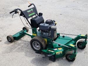 Hydrostatic lawn mower