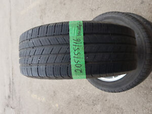 205/55/16 MICHELIN  used tires (all season)  with rims-$400