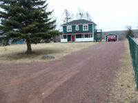 Solid House - Big Lot - On The Salmon River in NFLD.