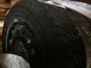SELLING NEW WINTER TIRES AND RIMS 195/60R15 London Ontario image 2