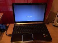hp dv6 i7 8gb ram 250 SSD