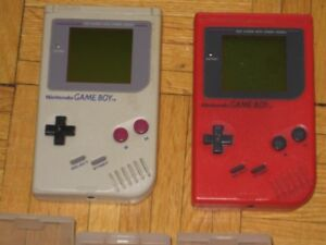 Nintendo game boy and games