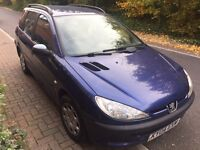 Peugeot 206 diesel 2.0 ready to drive away