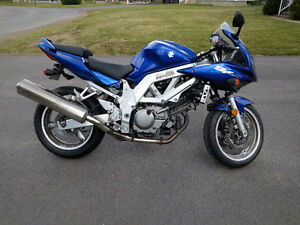 2004 Susuki SV650S. Low kms, new tire, chain, and sprockets