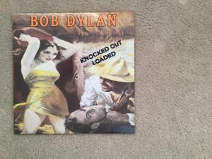Bob Dylan Knocked Out Loaded 33 1/3 RPM vinyl LP